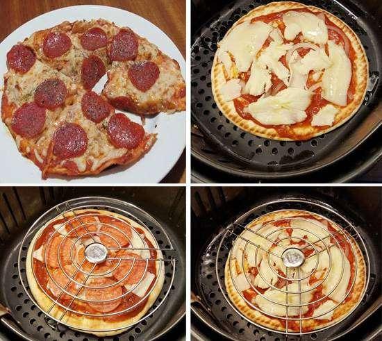 capa-6 Pizza na Airfryer