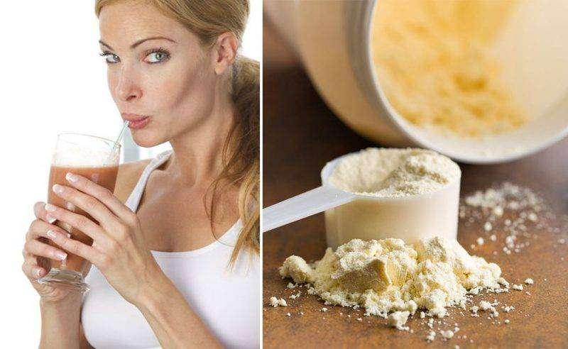 dieta con whey protein para adelgazar