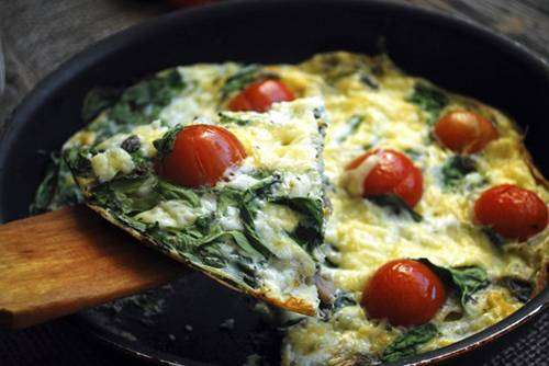 66-4 Omelete Low carb