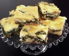 Torta de Escarola Low Carb