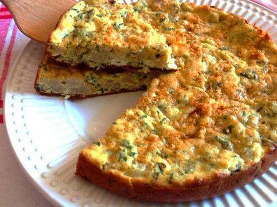 Torta de Tapioca - Sem Farinha