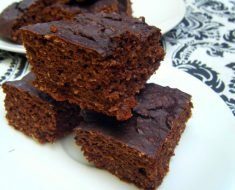 Brownie de Abobora Low Carb