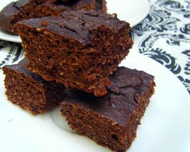 Brownie de Abobora Low Carb