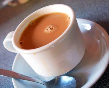 Chá de Camomila com Leite