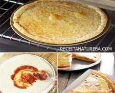 Massa de Pizza sem Glúten
