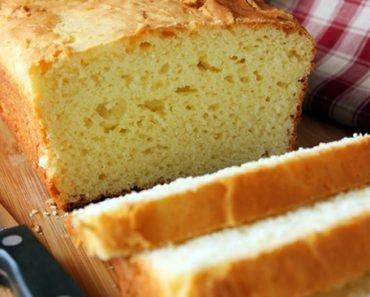 Pão de Grão de Bico Sem Farinha de Trigo