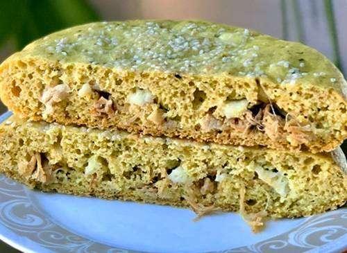 Torta de Legumes Low Carb