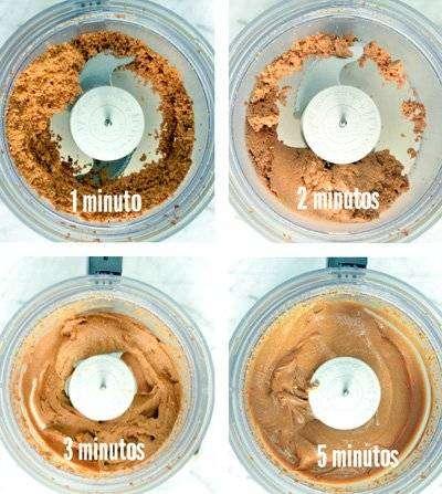 Receita de Pasta de Amendoim Fit2