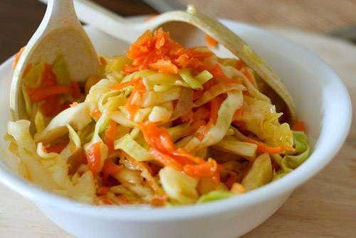 Salada de Repolho com Cenoura