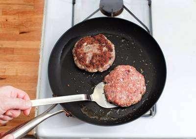 Hambúrguer Fit de Patinho