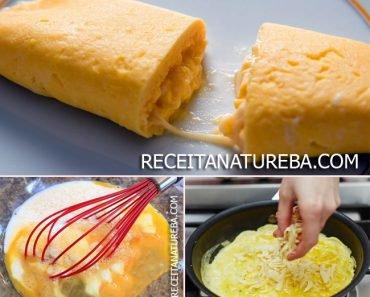 Receita de Omelete com Queijo