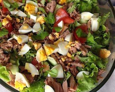Salada de Atum Low Carb