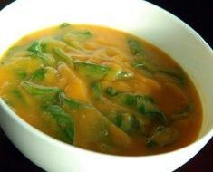 Sopa de Inhame com Frango