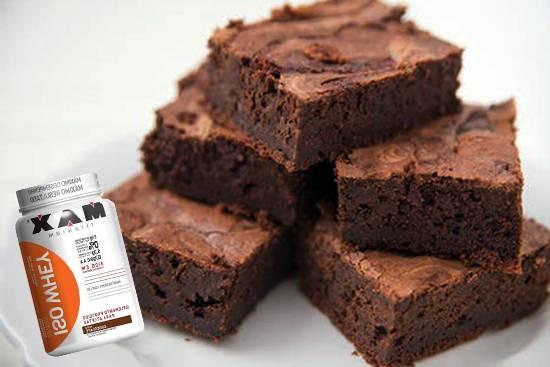 Brownie Proteico com Whey Protein