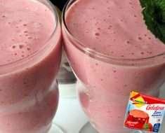Iogurte Caseiro com Gelatina