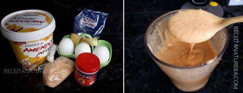 01-7 Pão de Amendoim Low Carb
