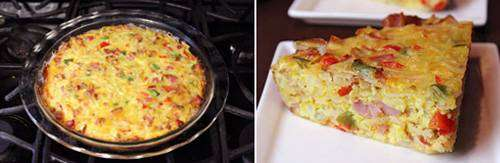 Torta de Omelete