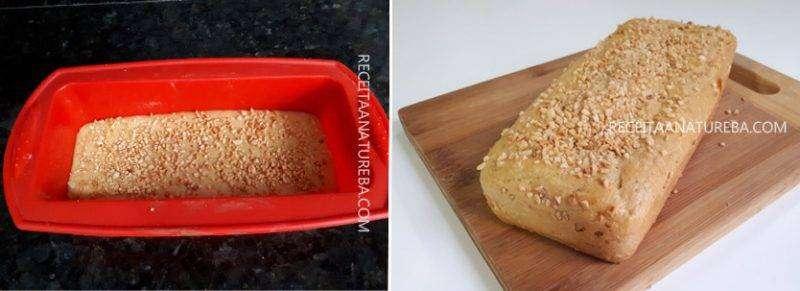 02-6 Pão de Amendoim Low Carb