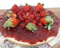 Cheesecake de Iogurte Natural