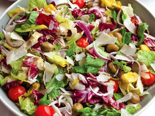 Salada de Natal Simples
