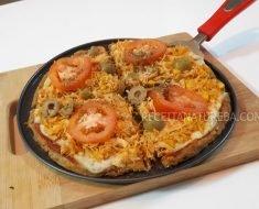 Massa de Pizza de Batata Doce