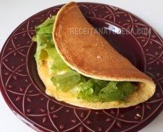 Pão de Queijo de Frigideira Low Carb