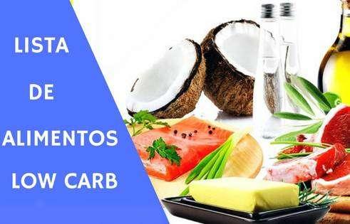 alimentos-low-carb Low Carb Alimentos Proibidos