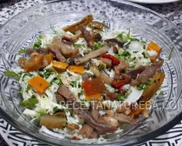 Salada de Berinjela Fria