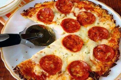 Pizza de Frigideira de Aveia