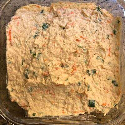 22-1 Patê de Frango Simples Para Sanduíche Natural