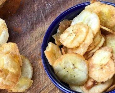 Chips de Banana na Airfryer