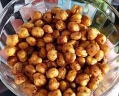 Snack de Grão de Bico