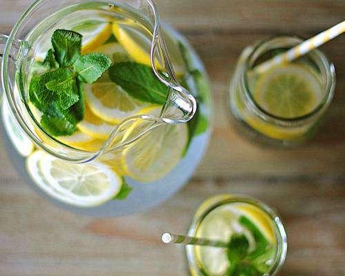 Suco Detox de Limão com Gengibre