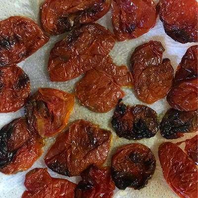 02-8 Tomate Seco No Microondas