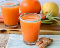 Suco Detox de Laranja