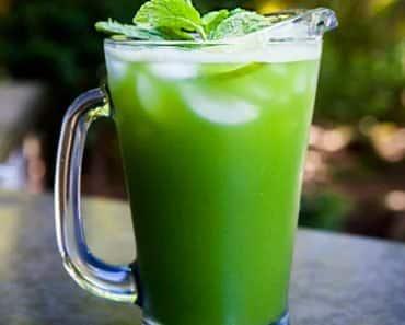 Suco Detox de Limão Para Emagrecer