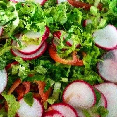 salada Como Fazer Rabanete