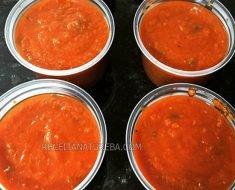 Molho de Tomate Low Carb