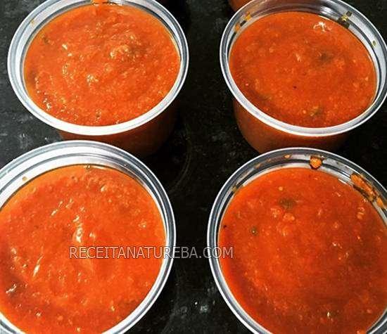00-1 Molho de Tomate Low Carb