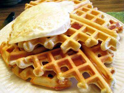 01-18 Waffle Low Carb Sem Carboidrato