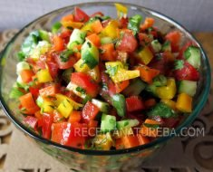 Vinagrete para Salada