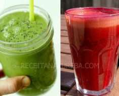 Suco Detox Low Carb