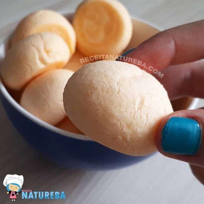Pão-de-Queijo-de-Tapioca-Sem-Glúten Pão de Queijo de Tapioca Sem Glúten
