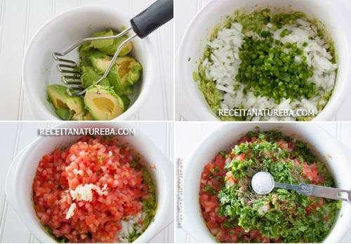 01-22 Receita de Guacamole Mexicano