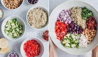 Receita de Salada de Quinoa