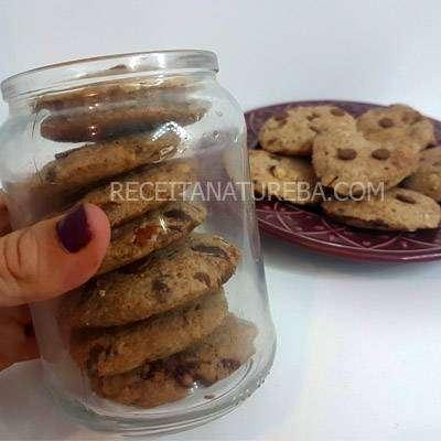Receita de Cookie Integral Fácil