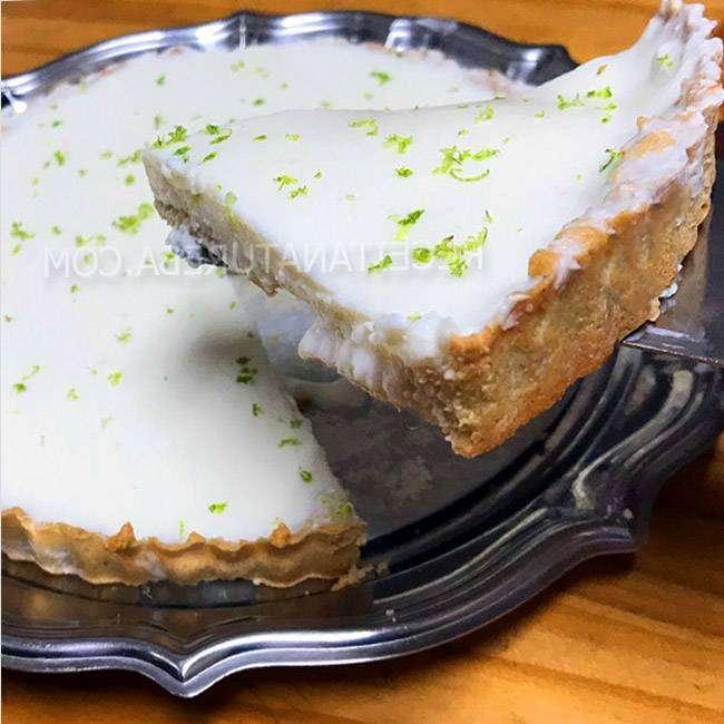 Torta de Limão Fit