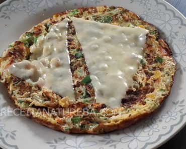 Receita de Omelete de Legumes