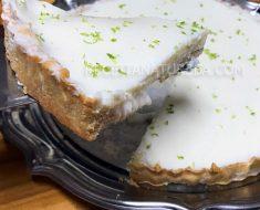 Torta de Limao Fit
