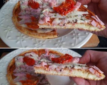 Pizza de Frigideira Rápida SEM Glúten